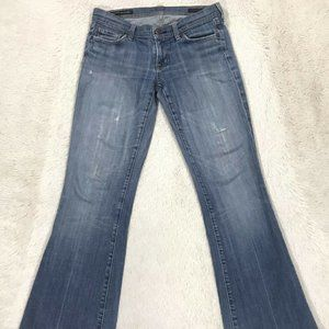 Citizens of Humanity Ingrid Low Waist Flare Sz 28